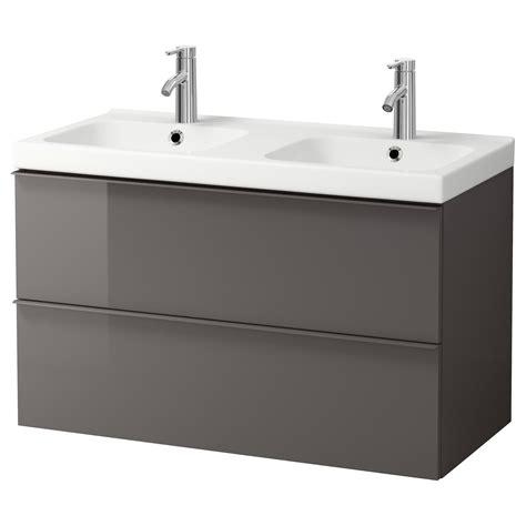 bagno ikea godmorgon odensvik godmorgon wash stand with 2 drawers high gloss