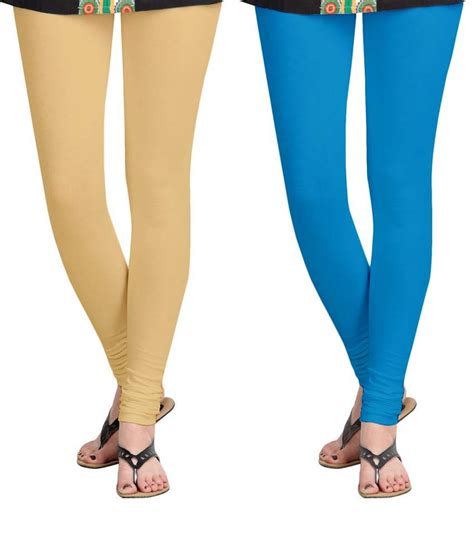 Combo Pack Goon M 15 Size M aannie womens cotton slim fit skin firozi blue