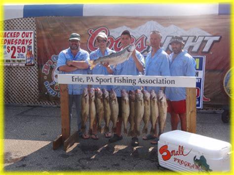 erie pa charter boat association lake erie pa walleye fishing charters erie pa