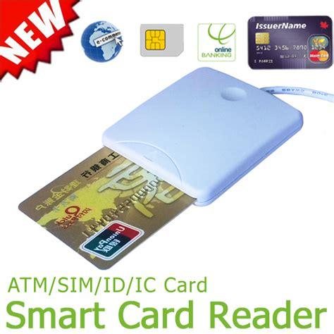 smart card reader untuk for sim card atm card ic id card free shipping 1 lot usb emv smart card reader writer