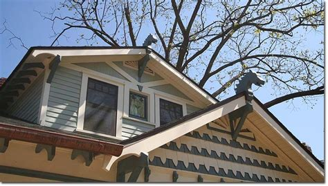 A Gable Roof Has 1000 Images About Roofs Dormers Windows On