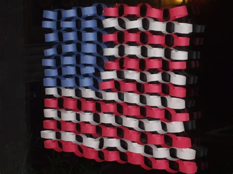 american flag crafts for the of motherhood paper chain american flag craft