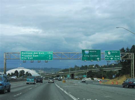 Interstate 5 North - Pierce County - AARoads - Washington I 5 Exit 71 In Washington State