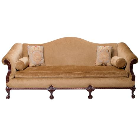 camel back couch antique camel back sofa philadelphia chippendale style