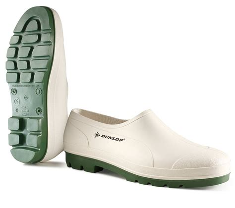 dunlop wellie shoe white 10 b370411 s shoes work