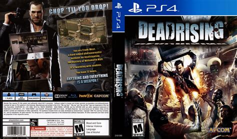 dead rising dvd cover 2016 usa ps4