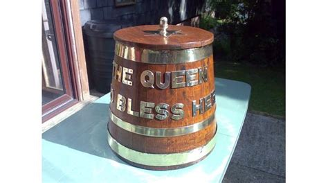 Bathtub Rum Bbc A History Of The World Object Royal Navy Rum Tub