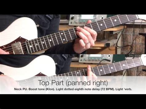 tutorial guitar hillsong o praise the name hillsong worship electric guitar