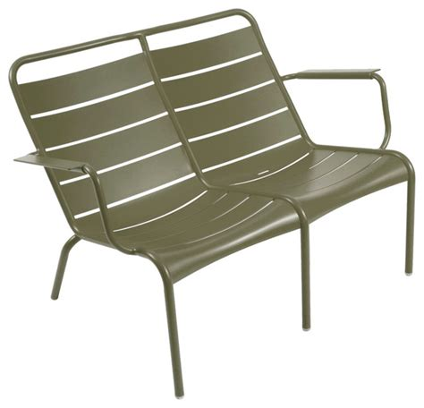 Low Patio Chairs Fermob Luxembourg Low Duo Modern Outdoor Chairs By Fermobusa