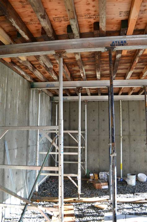 structure concr formwork home building  vancouver