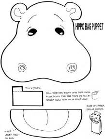 paper plate puppets templates the 25 best hippo crafts ideas on zoo animal