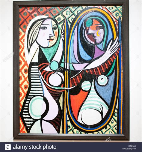 picasso paintings new york before a mirror by pablo picasso at the museum of