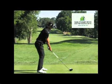 adam scott golf swing down the line adam scott 2011 golf swing dl driver youtube