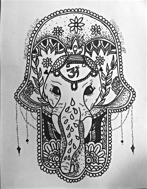 ganesh tattoo in hand 17 best images about hamsa tattoo on pinterest loyalty