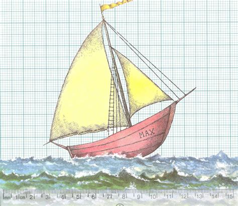 where the wild things are sailboat measured boat in and out of weeks