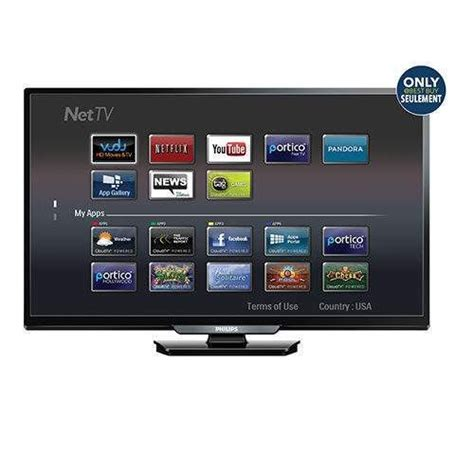 smart tv best buy philips 55 quot 1080p hd led smart tv only at best buy yp ca