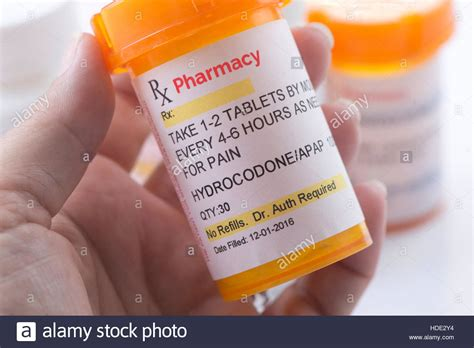 Had 600 Pills All From One Doctor by Hydrocodone Prescription Bottle Hydrocodone Is A Generic