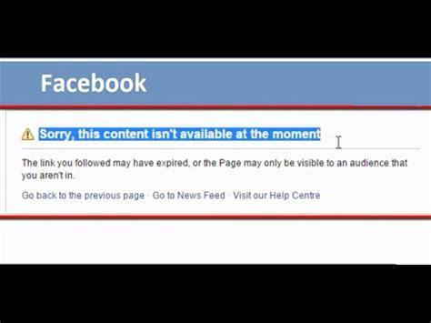 facebook   content isnt    moment