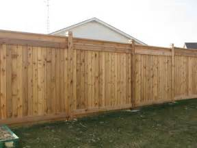 wood backyard fence fences