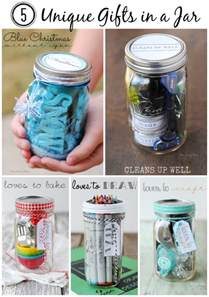 gifts in a jar gift ideas