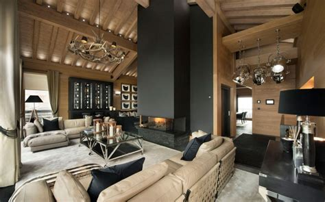 modern french interior design inspiring modern chalet interior design from french alps