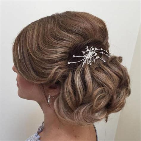 soft updo hairstyles for mothers 40 ravishing mother of the bride hairstyles