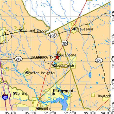 splendora texas map splendora texas tx population data races housing economy
