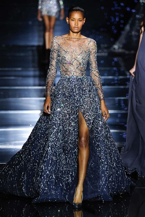 couture embellished denim trend 2015 zuhair murad 2015 fall winter bridal collection arabia