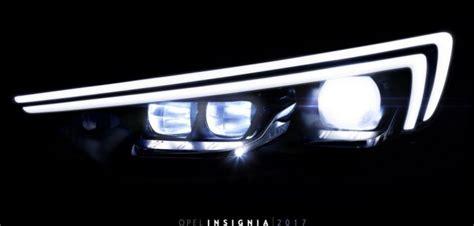 Lu Led Motor Di Otista as 237 los faros intellilux led nuevo opel insignia 2017