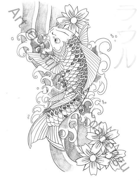 sket tattoo ikan koi 17 best ideas about koi tattoo design on pinterest koi