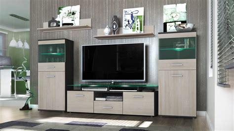 wall unit living room furniture almada v2 in white black wall unit living room furniture almada black high gloss