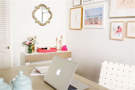 chic office decor work it chic and functional office d 233 cor lauren conrad
