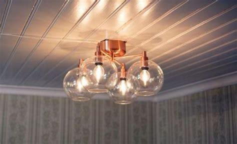 belid p 2009 copper flush ceiling light fitting gloria