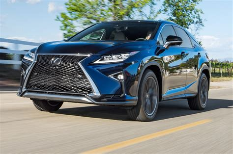 lexus rx 350 f sport 2016 2016 lexus rx 350 f sport test review best seat in
