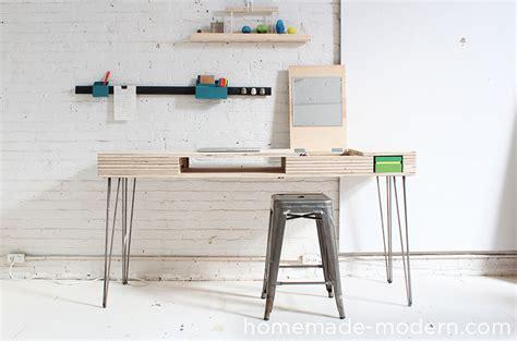 homemade desk homemade modern ep30 the flip desk