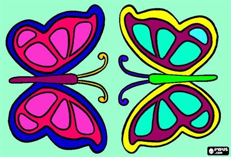 imagenes de mariposas a color mariposas color para colorear mariposas color para imprimir