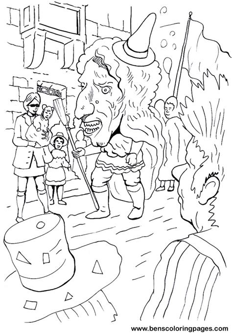 free coloring pages of carnival of the animals