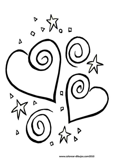 imagenes de corazones para coloriar hen866cuq corazones de amor dibujos