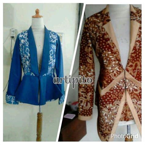 gambar rok dres batik 1000 gambar tentang batik di pinterest blazer rok dan