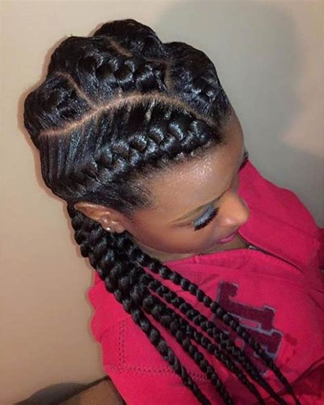 10 remarkable goddess braids hairstyles amazing black brilliant and stunning 3 big goddess braids for property