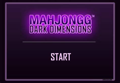 Pch Mahjongg Dark Dimensions - mahjong dark dimensions