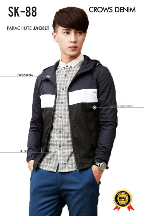 Jacket Comby Style Korean Sk 58 jaket kulit ariel noah ina shop indonesia shop