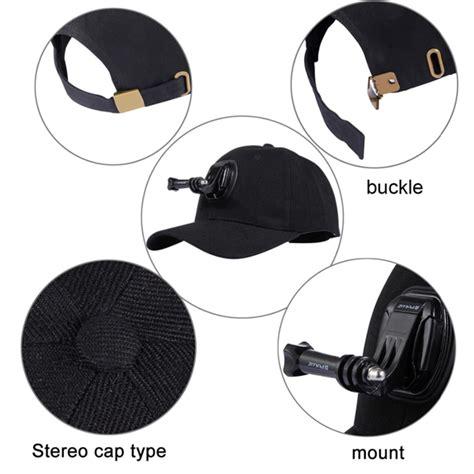 Topi Baseball Cameras For Less Most Wanted puluz outdoor sun hat topi baseball cap holder mount for gopro ebay
