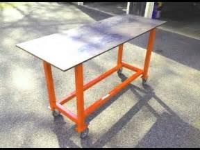Diy Welding Table by Diy Welding Cart Easy To Build Plans Funnycat Tv