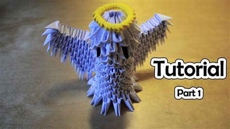 How To Make 3d Paper - how to make a 3d origami part 1 tutorial