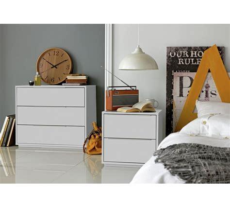 buy hygena bergen 3 drawer chest white at argos co uk