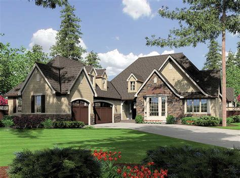 bungalow with charming facade hwbdo11716 cottage inspired facade 69084am architectural designs