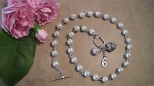 Custom Handmade Jewelry - pearl elegance necklace and custom handmade jewelry