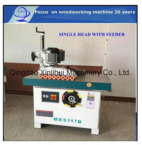 china spindle moulder  automatic feeding roller