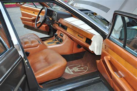 maserati models interior maserati quattroporte royale 1987 1990 model interior